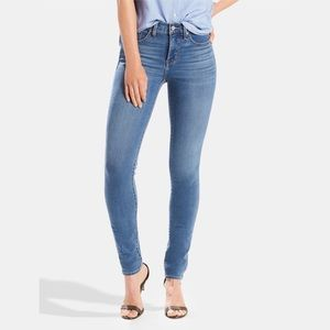 Levi's Shaping Skinny 311 Jeans Mid Rise Stretch 8